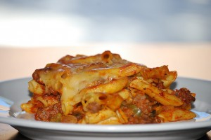 Cheesy Pasta Bake