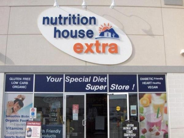 Low Carb Grocery Express at Nutrition House Mississauga, Ontario