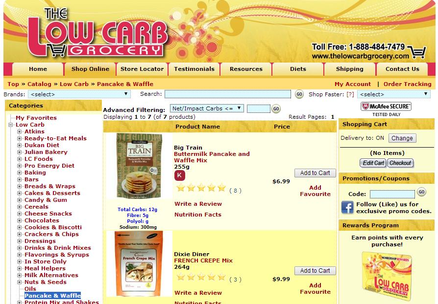 TheLowCarbGrocery.com 2010-2014