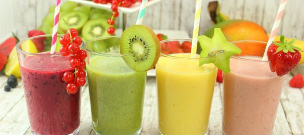 great blended drinks and smoothies