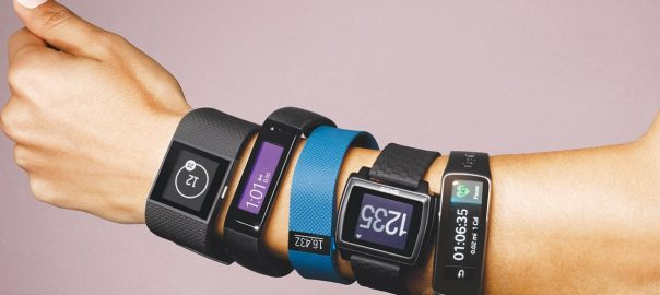 trackers and wearable fitness tech