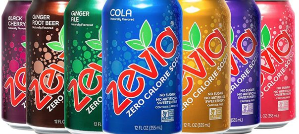 sugar free zevia soda