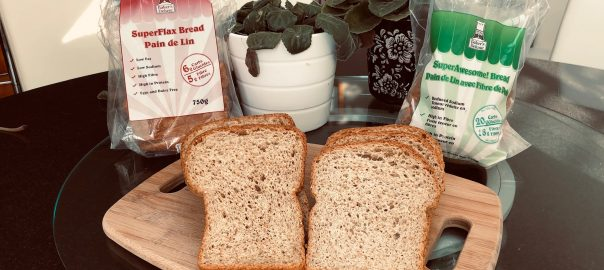 low carb breads superflax and superawesome