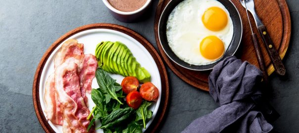Dieting low carb to target loss of weight