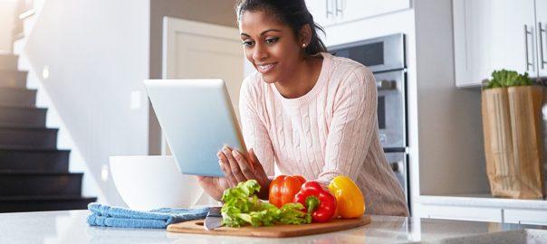 Managing diabetes through diet.