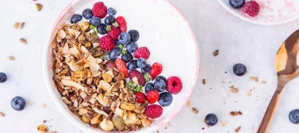 Healthy, low carb & keto options for granola