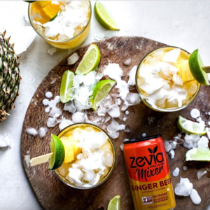 Cocktails made with Zevia Naturally Flavoured Ginger Beer